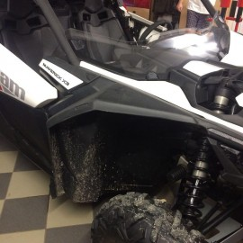 Расширители арок PanZerBox для BRP Can-Am Maverick X3 XDS комплект