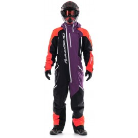 Комбинезон Dragonfly Extreme Orange-Purple Fluo 2020
