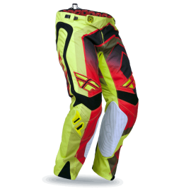 Штаны кроссовые Fly Racing Evolution Vertigo Grn/Red/Blk
