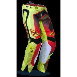Штаны кроссовые Fly Racing Evolution Vertigo Grn/Red/Blk