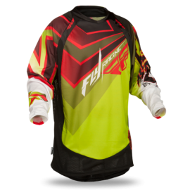 Джерси Fly Racing Evolution Vertigo Grn/Red/Blk