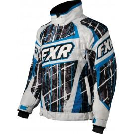 Куртка FXR Racing Helix Cayan Blk Splaid