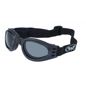 Очки Global Vision Adventure Smoke - очки для мотоцикла на резинке