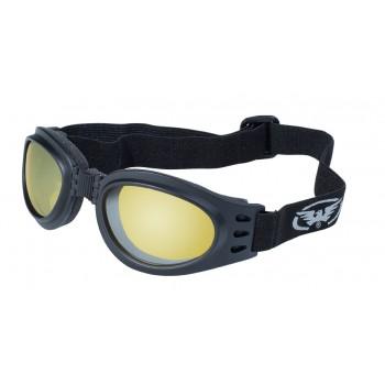 Очки Global Vision Adventure Yellow Tint - мотоциклетные очки на резинке