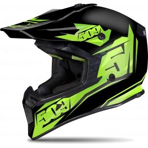 Шлем 509 Tactical Black Lime