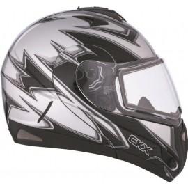 Шлем CKX TRANZ E FAST TIME EDL Silver/Black