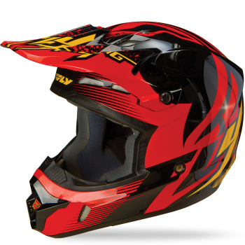 Шлем Fly Racing Kinetic Inversion Red/Blk