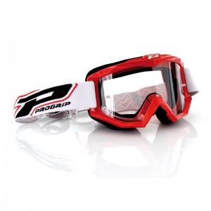 Очки кроссовые ProGrip 3201 Dual Race Line