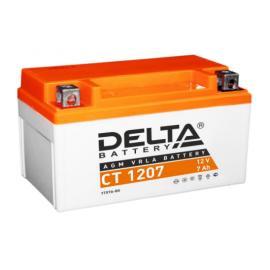 Аккумулятор Delta CT 1207 12V / 7Ah YTX7A-BS
