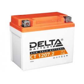 Аккумулятор Delta CT 1207.2 12V / 7Ah YTZ7S