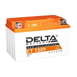 Аккумулятор Delta CT 1209 12V / 9Ah YTX9, YTX9-BS
