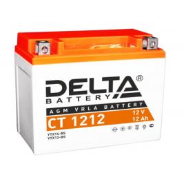 Аккумулятор Delta CT 1212 12V / 12Ah YTX12-BS,YTX14-BS