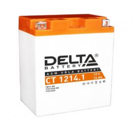 Аккумулятор Delta CT 1214.1 12V / 14Ah YB14-BS, YTX14AH, YTX14AH-BS