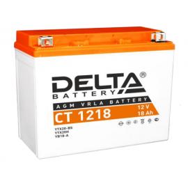 Аккумулятор Delta CT 1218 12V / 18Ah YB18-A, YB16-B, YB16-B-CX, YTX20H, YTX20-BS