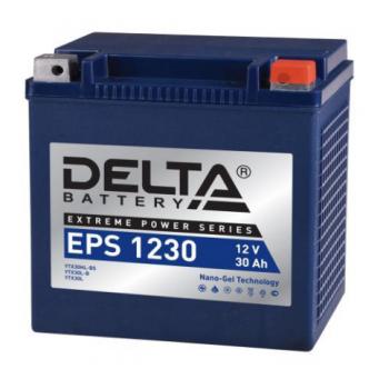 Аккумулятор Delta EPS 1230 12V / 30Ah YTX30L-B, YTX30HL-BS, YTX30L
