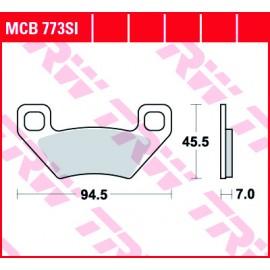 Тормозные колодки TRW MCB773SI