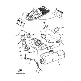 Мат уплотнительный гидроцикла Yamaha GU0-67593-00-00